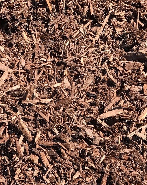 Forest Brown Mulch Installation